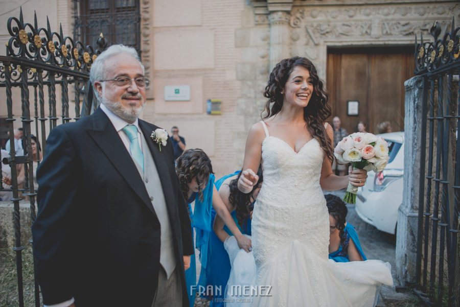 Fran Ménez Fotógrafo de Bodas en Granada. Iglesia de San Pablo y San Pedro. Carmen de los Chapiteles. Fotografía de Boda. 60