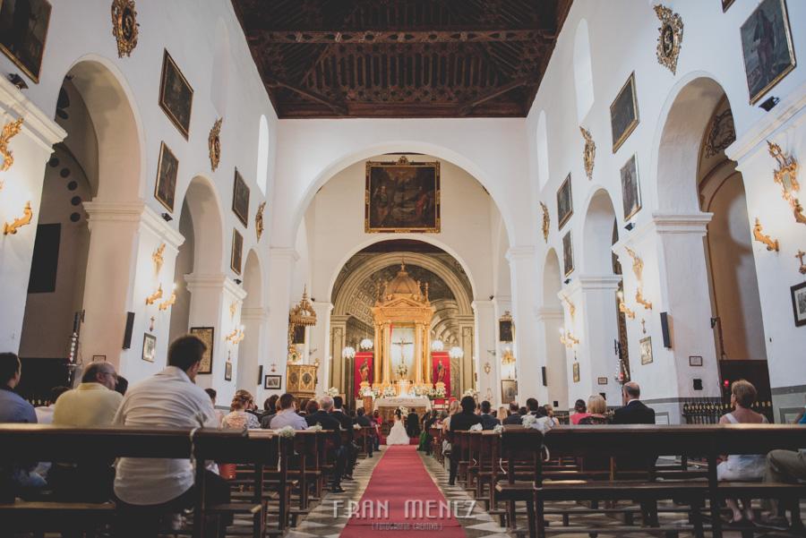 Fran Ménez Fotógrafo de Bodas en Granada. Iglesia de San Pablo y San Pedro. Carmen de los Chapiteles. Fotografía de Boda. 67