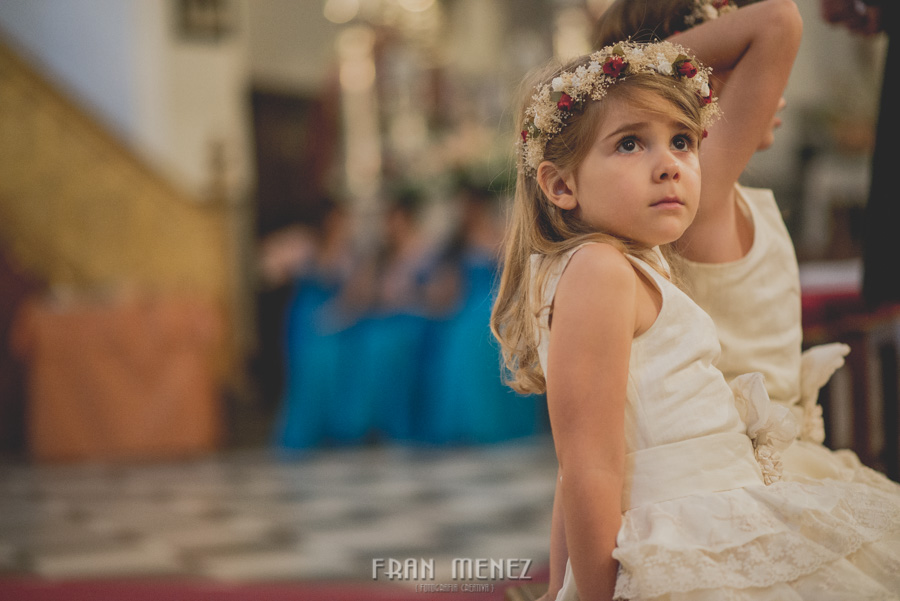Fran Ménez Fotógrafo de Bodas en Granada. Iglesia de San Pablo y San Pedro. Carmen de los Chapiteles. Fotografía de Boda. 78