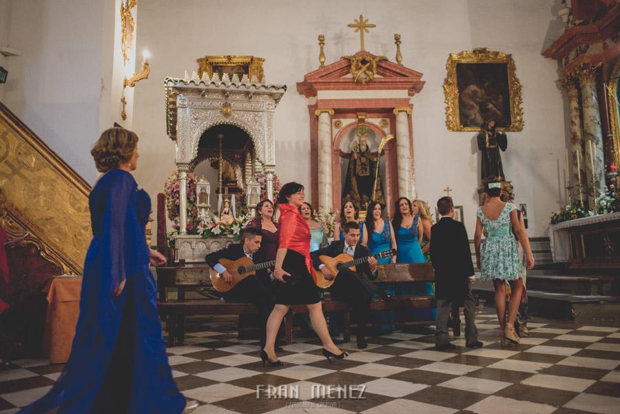 Fran Ménez Fotógrafo de Bodas en Granada. Iglesia de San Pablo y San Pedro. Carmen de los Chapiteles. Fotografía de Boda. 83