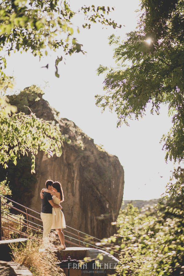 Fran Ménez Fotografía de Pre Bodas. Patty y Alex. Los Cahorros. Monachil 10