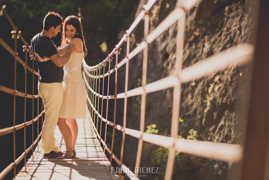 Fran Ménez Fotografía de Pre Bodas. Patty y Alex. Los Cahorros. Monachil 22
