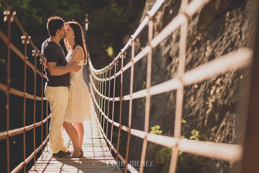Fran Ménez Fotografía de Pre Bodas. Patty y Alex. Los Cahorros. Monachil 24