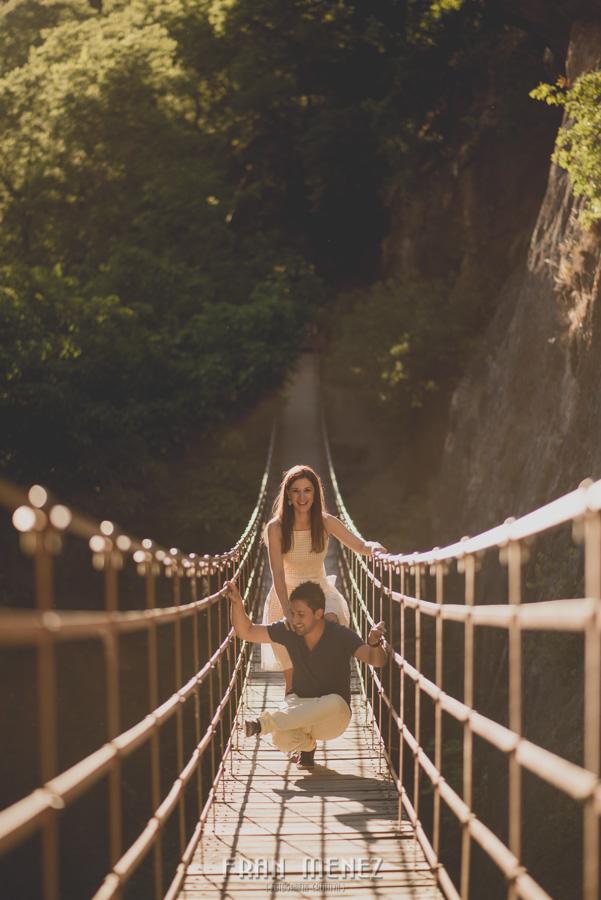 Fran Ménez Fotografía de Pre Bodas. Patty y Alex. Los Cahorros. Monachil 28