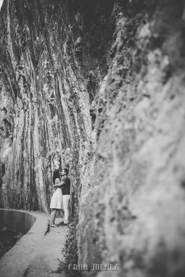 Fran Ménez Fotografía de Pre Bodas. Patty y Alex. Los Cahorros. Monachil 3
