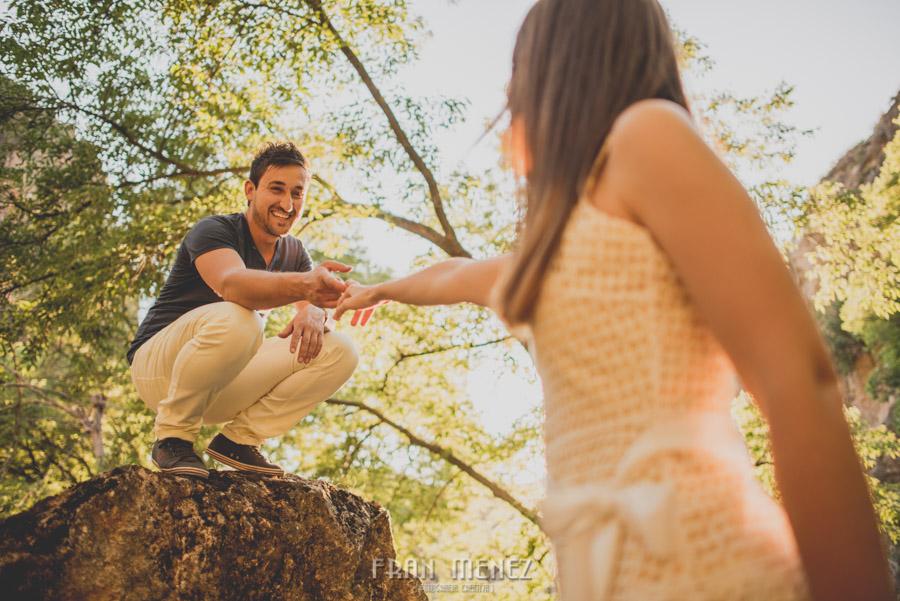 Fran Ménez Fotografía de Pre Bodas. Patty y Alex. Los Cahorros. Monachil 38