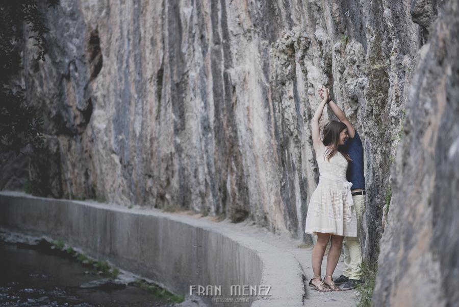 Fran Ménez Fotografía de Pre Bodas. Patty y Alex. Los Cahorros. Monachil 6