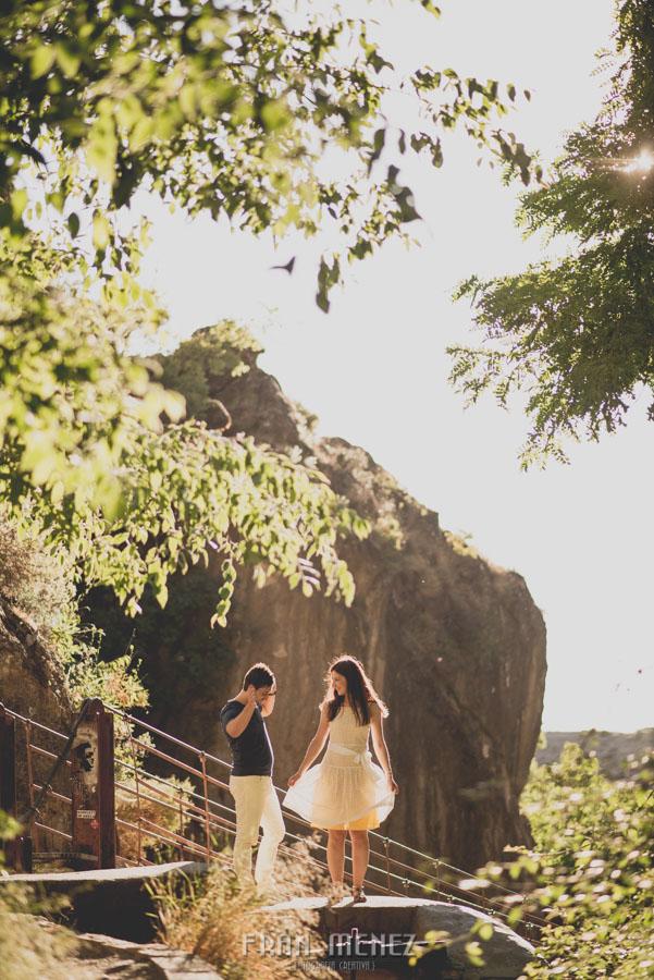 Fran Ménez Fotografía de Pre Bodas. Patty y Alex. Los Cahorros. Monachil 8