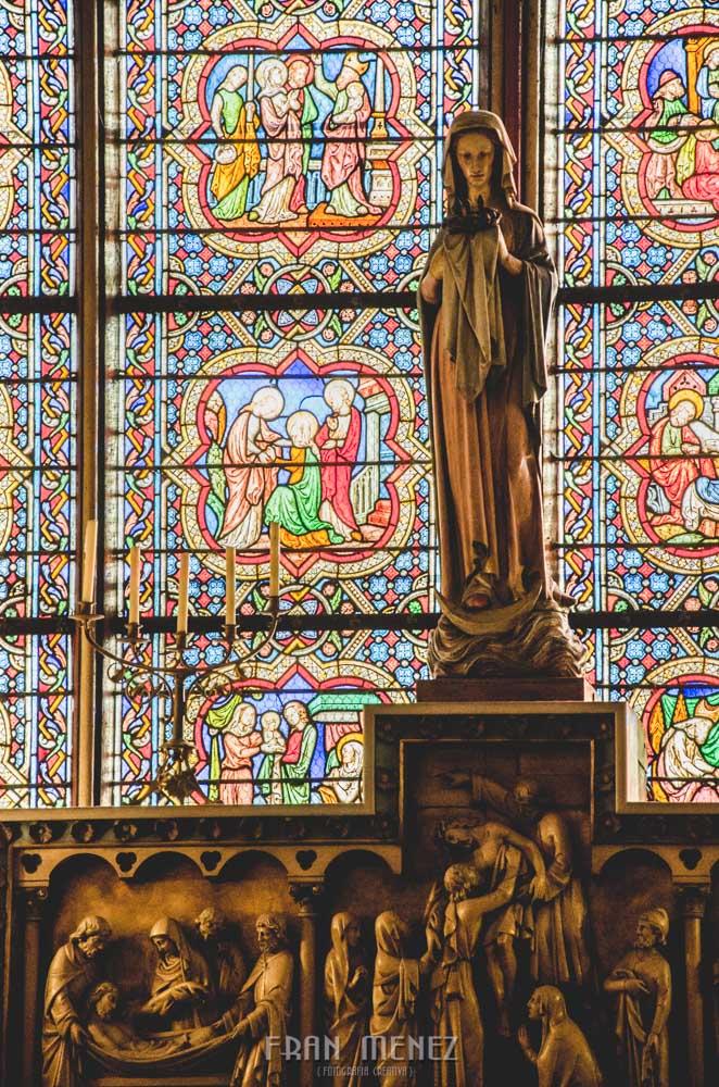 Fotografías de Paris. Fran Ménez Fotógrafo en Paris. 18 Notre Dame