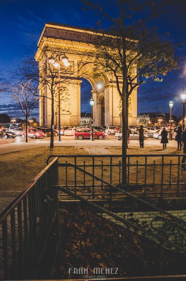 Fotografías de Paris. Fran Ménez Fotógrafo en Paris. 23 Arco del Triunfo Aque de Triomf