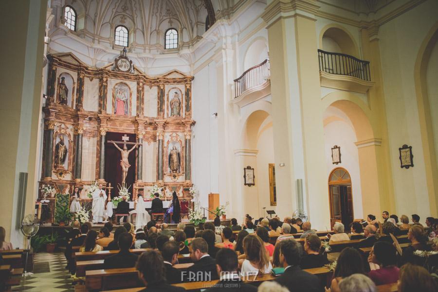 Fotografias de Boda en Torre del Rey y los Escolapios San Jose de Calasanz. Fran Ménez Fotógrafo. 51