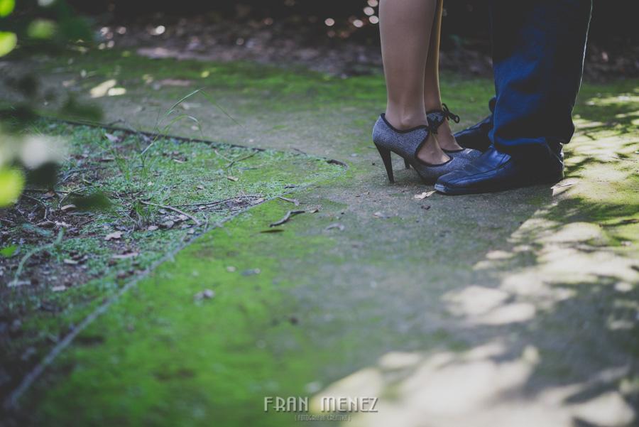 Mercedes y Alberto. Pre Boda en la Alhambra y Carmen de los Mártires. Fran Menez Fotógrafo 6