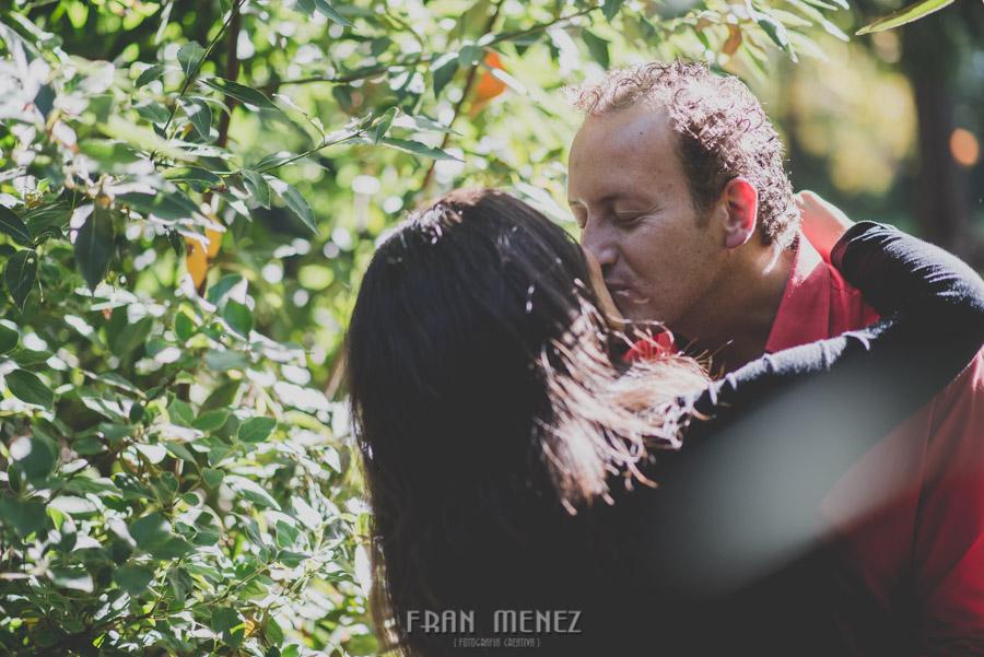 Mercedes y Alberto. Pre Boda en la Alhambra y Carmen de los Mártires. Fran Menez Fotógrafo 7