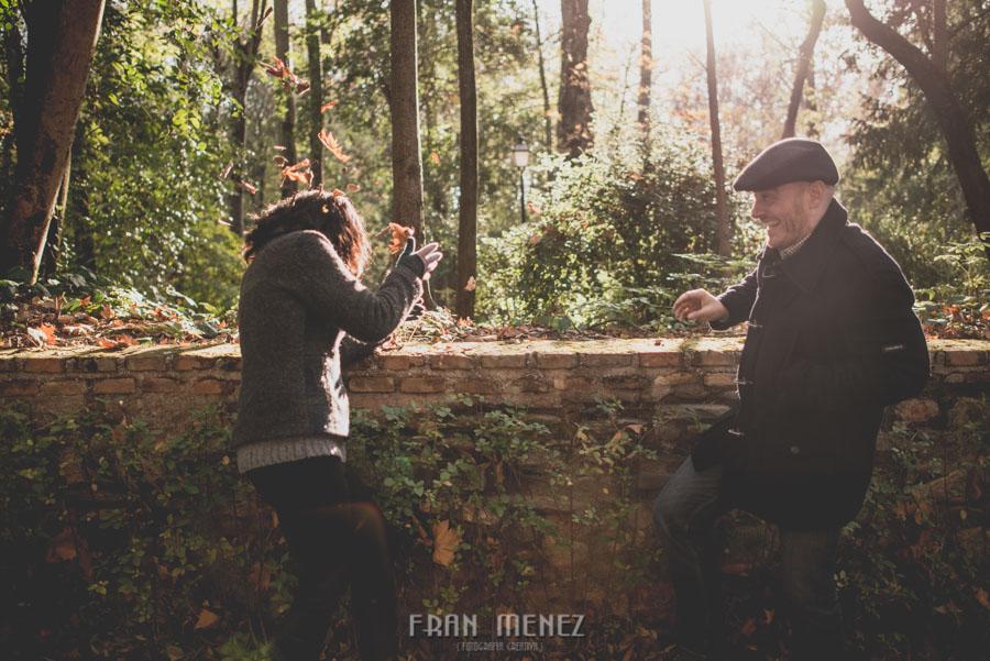 Pre Boda en los alrededores de la Alhambra. Pilar y Diego. Fran Ménez Fotografía de Parejas 12