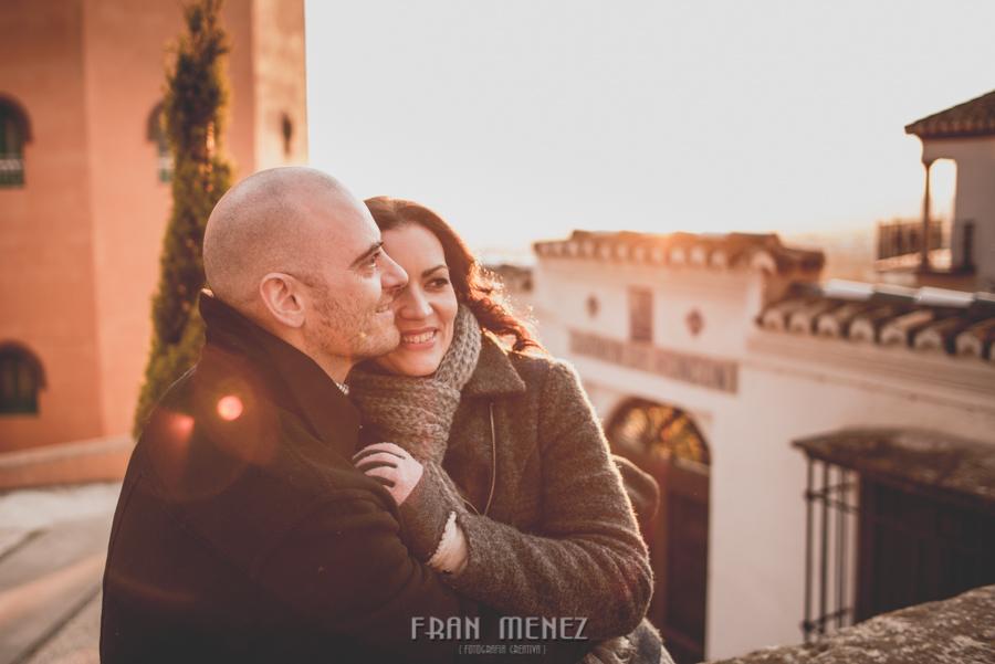 Pre Boda en los alrededores de la Alhambra. Pilar y Diego. Fran Ménez Fotografía de Parejas 51