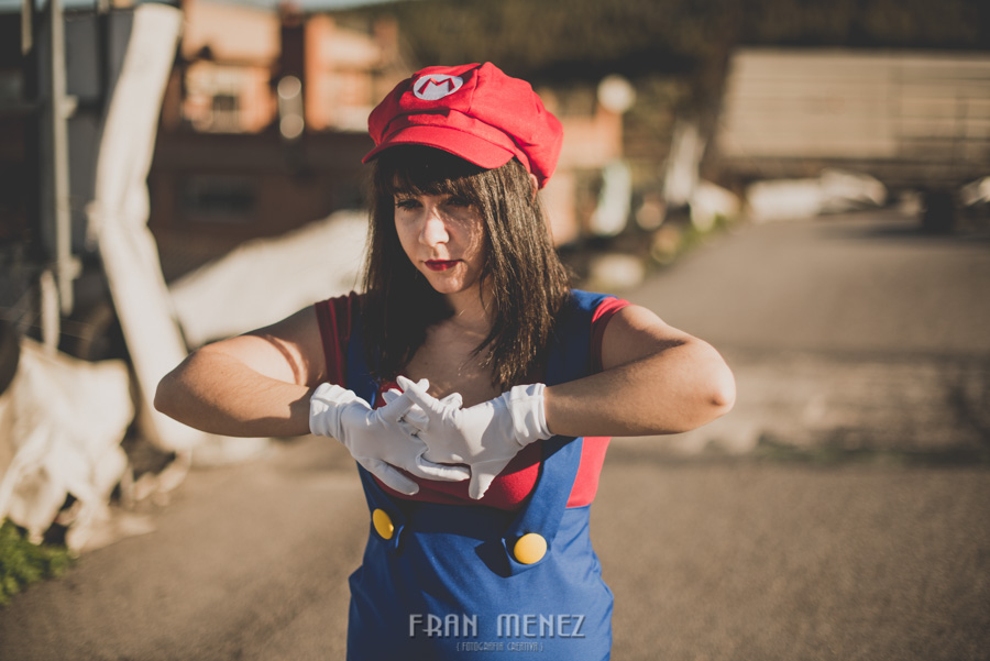 Sesion Cosplay Super Mario kart 10