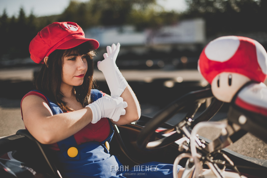 Sesion Cosplay Super Mario kart 13