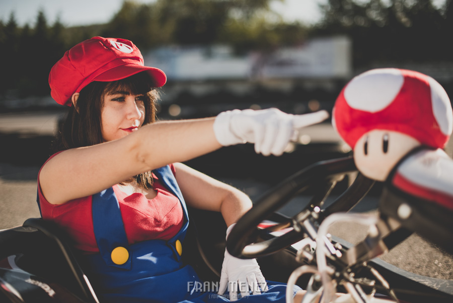 Sesion Cosplay Super Mario kart 14