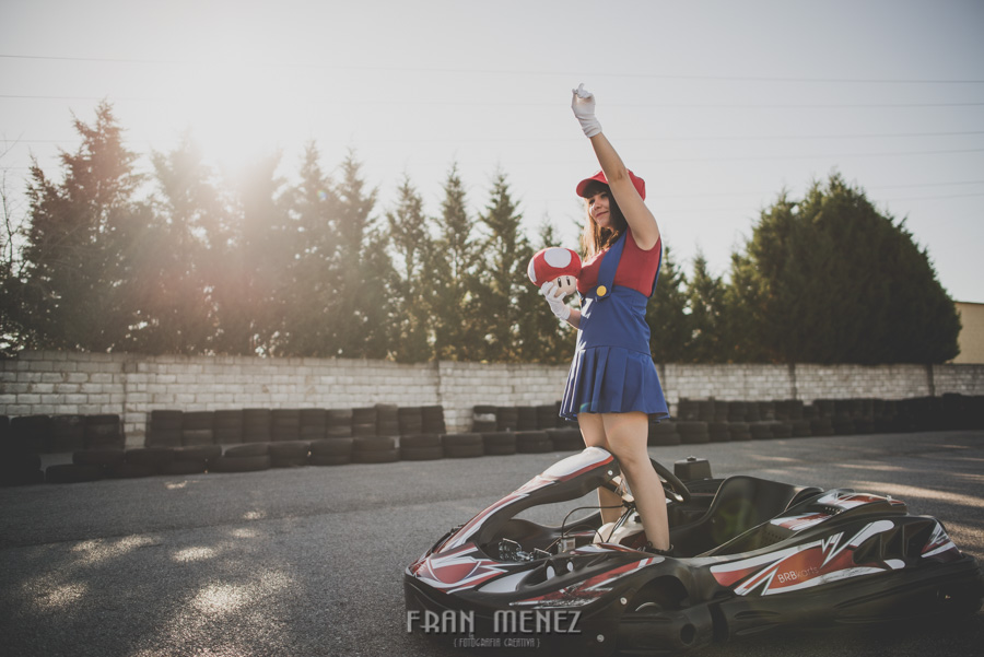 Sesion Cosplay Super Mario kart 18