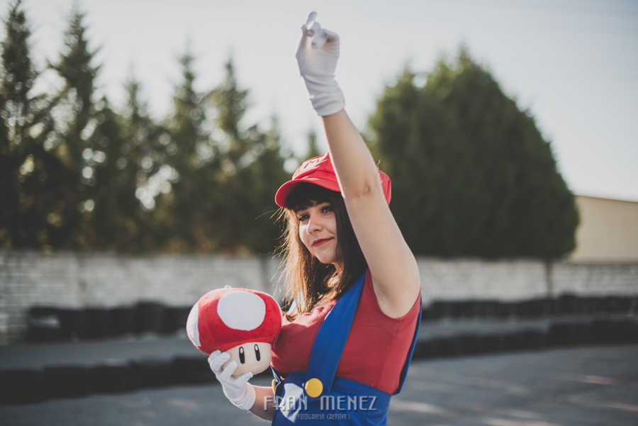Sesion Cosplay Super Mario kart 19