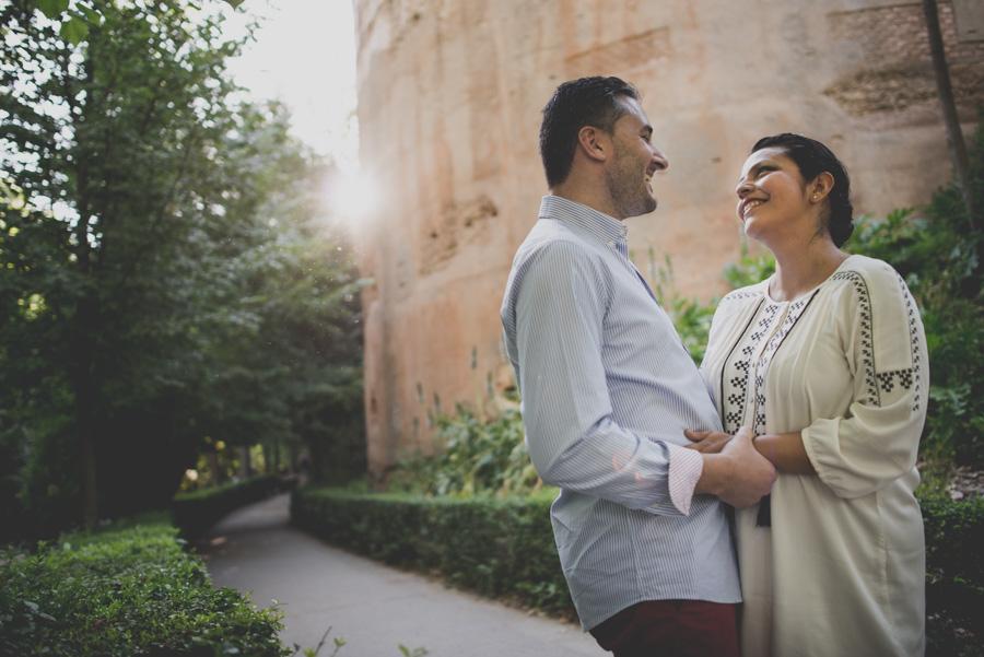 Pre Boda Karina y David. Fran Ménez Fotógrafos Bodas Granada. Fotografía de bodas originales 1