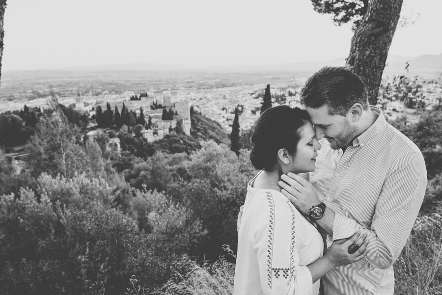 Pre Boda Karina y David. Fran Ménez Fotógrafos Bodas Granada. Fotografía de bodas originales 22