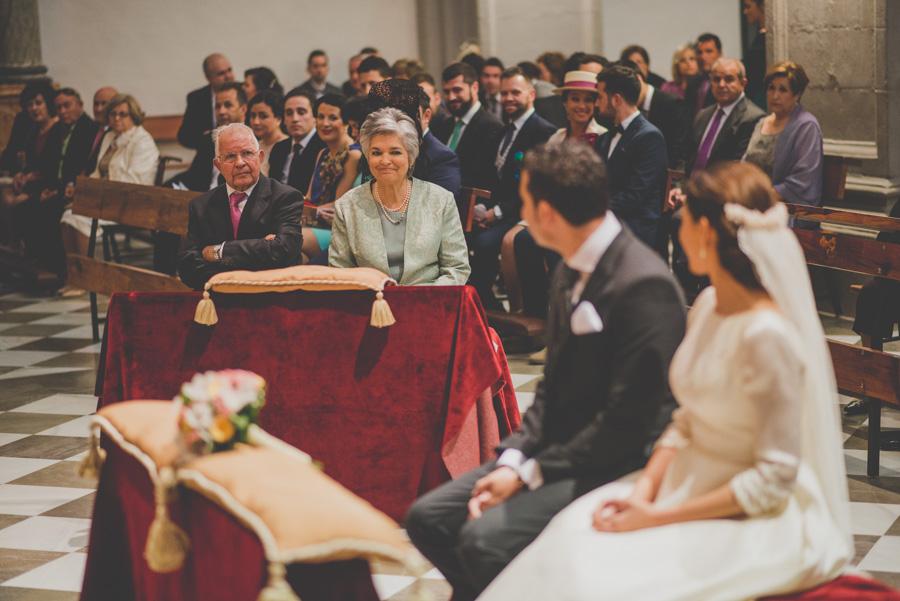 Fran Ménez. Fotógrafo de Bodas en Huescar. Iglesia Santa María La Mayor. Fotografías de Boda Yolanda y Jose 66