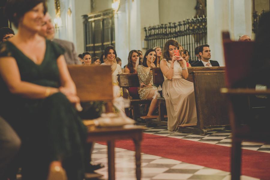 Boda en Iglesia San Matias y Carmen de los Chapiteles. Cristina y Nacho. Fran Ménez Fotógrafo de Bodas en Granada 45