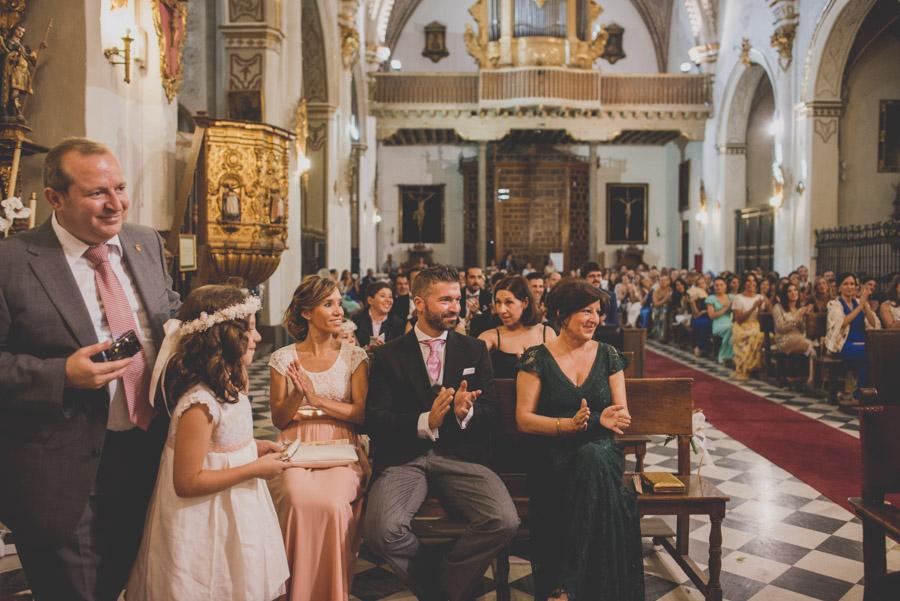 Boda en Iglesia San Matias y Carmen de los Chapiteles. Cristina y Nacho. Fran Ménez Fotógrafo de Bodas en Granada 51