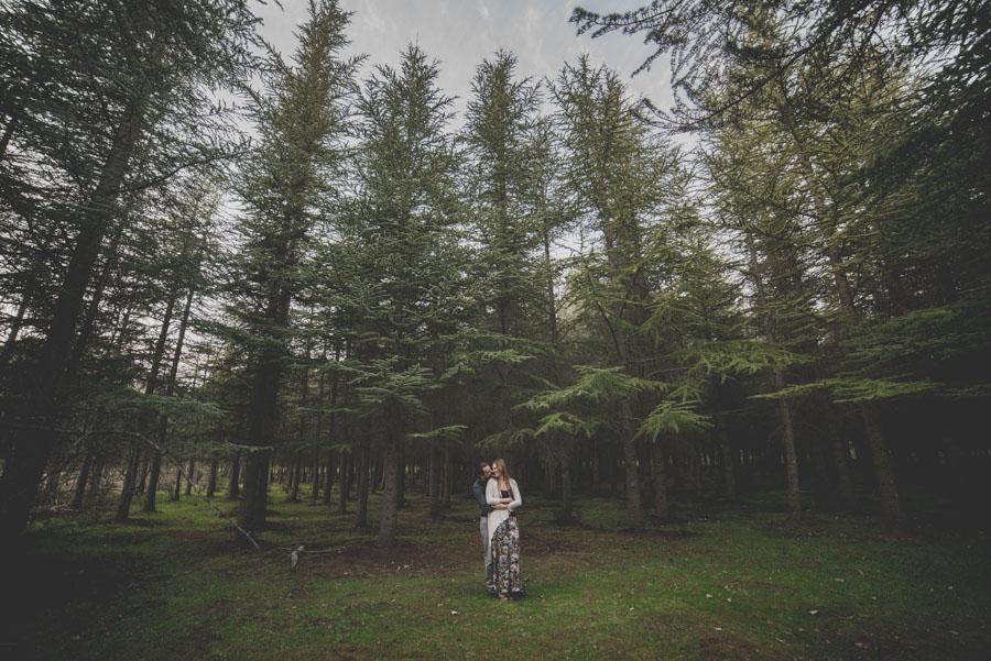 Fatima y Antonio. Pre Boda en el Bosque. Fran Ménez Fotografos de Boda 11