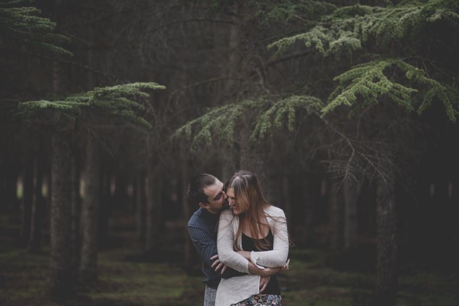 Fatima y Antonio. Pre Boda en el Bosque. Fran Ménez Fotografos de Boda 12