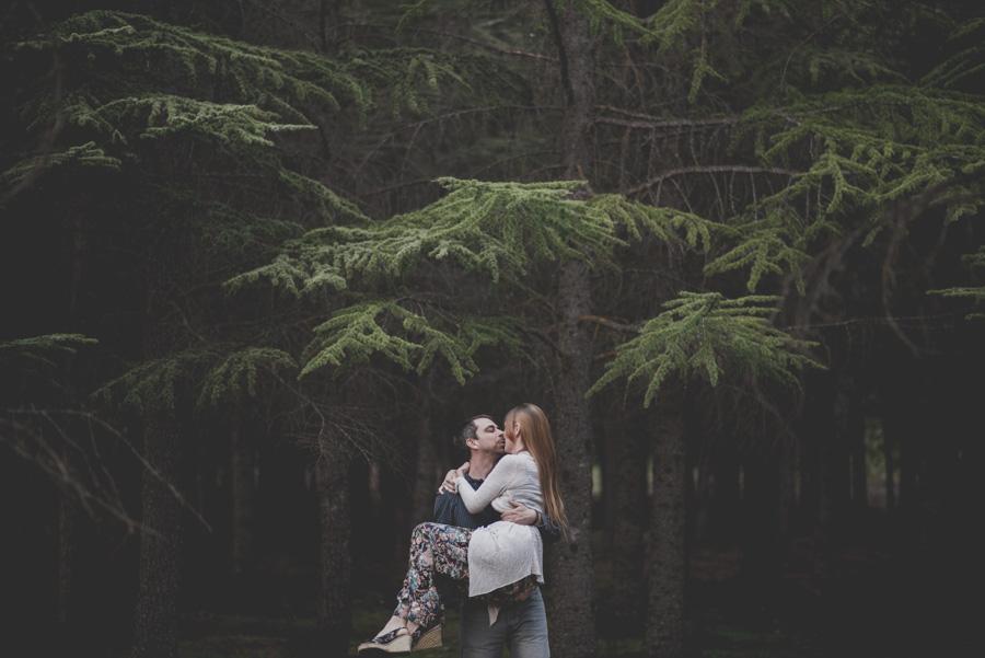 Fatima y Antonio. Pre Boda en el Bosque. Fran Ménez Fotografos de Boda 14