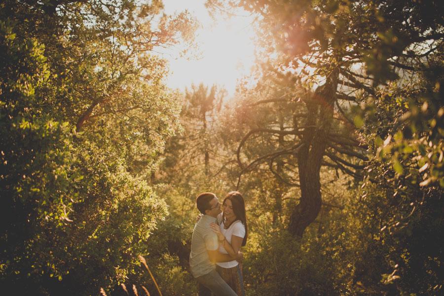 Fotografias de Pre Boda en las Trincheras de Alfacar. Laura y Cesar. Fran Ménez Fotógrafo