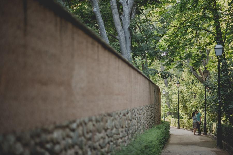 Pre Boda en exteriores de la Alhambra. Nuria y Enrique 22