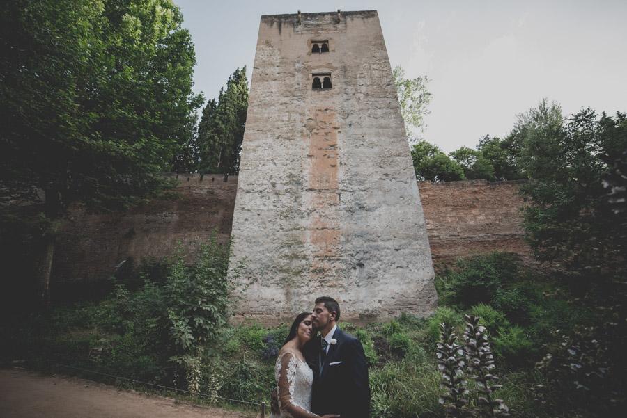 Sesión de post boda en la Alhambra de Granada. Reportaje post boda en Granada, por Fran Ménez Fotógrafo