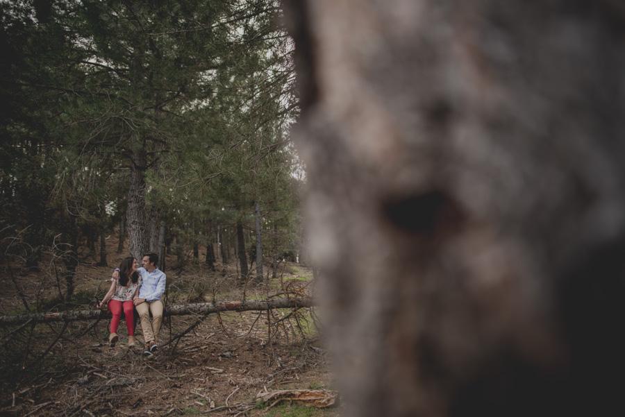 David e Inma. Pre Boda en Primavera en la Sierra de Huetor Santillan. Fran Ménez Fotógrafos de Boda en Granada. 16