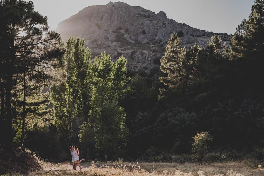 Alicia y Juan. Pre Boda en el Bosque de Huetor Santillan. Fran Ménez Fotografos de Boda 13