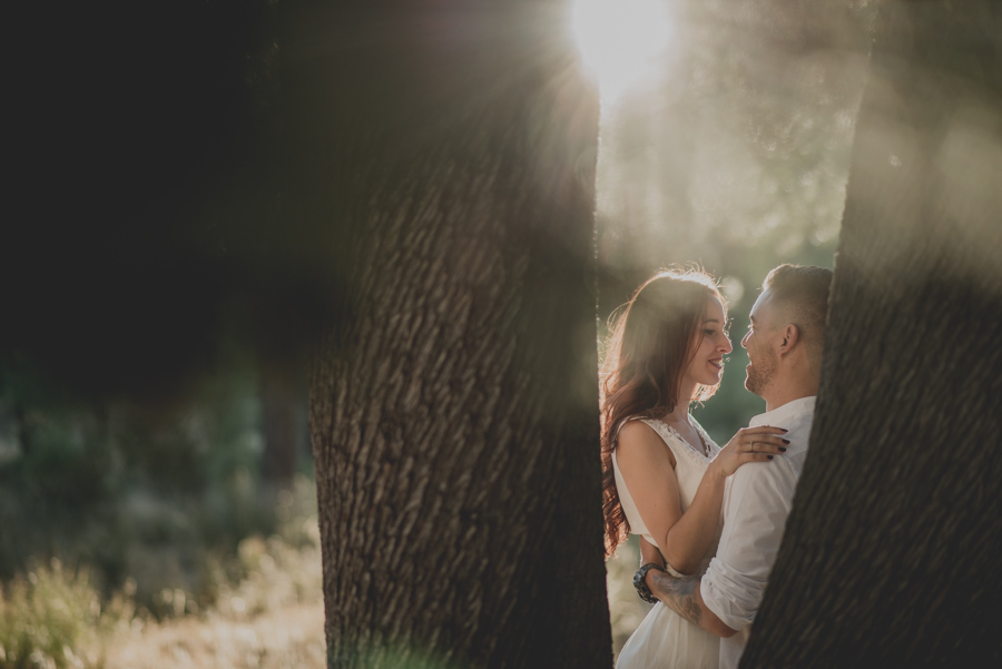 Alicia y Juan. Pre Boda en el Bosque de Huetor Santillan. Fran Ménez Fotografos de Boda 19