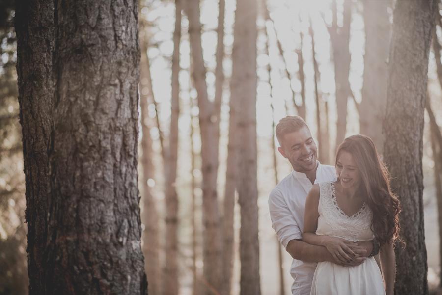 Alicia y Juan. Pre Boda en el Bosque de Huetor Santillan. Fran Ménez Fotografos de Boda 7