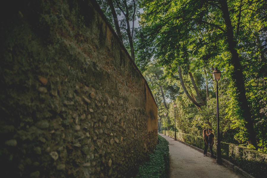 Pre Boda Maria y Nacho. Fotografias de Pre Boda en el Bosque de la Alhambra. Fran Ménez Fotógrafo 17