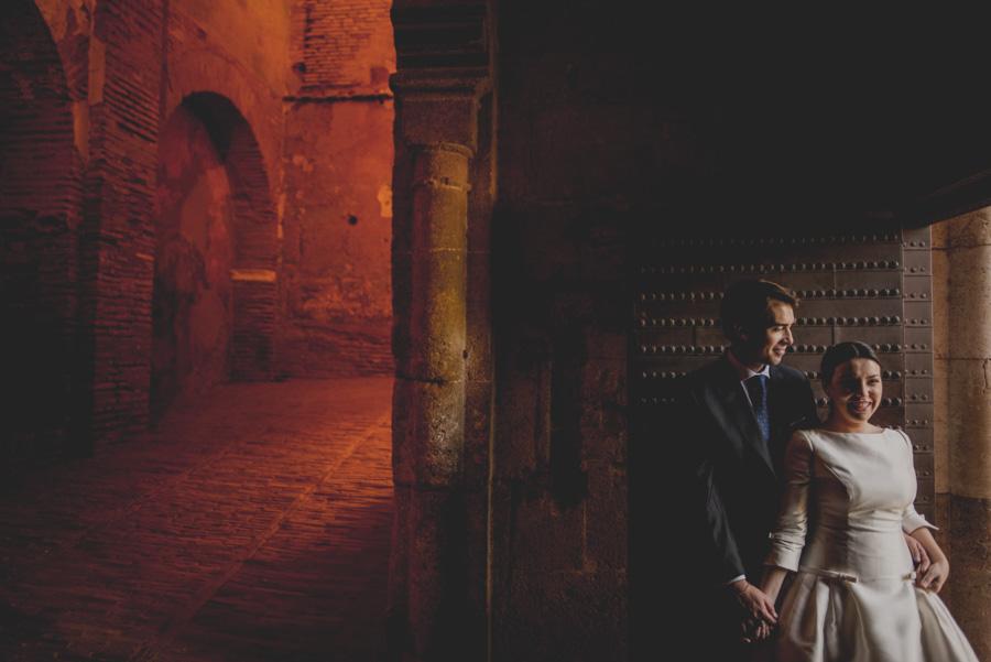 Post Boda en los alrededores de la Alhambra. Fran Menez Fotógrafos de Boda en Granada. 18