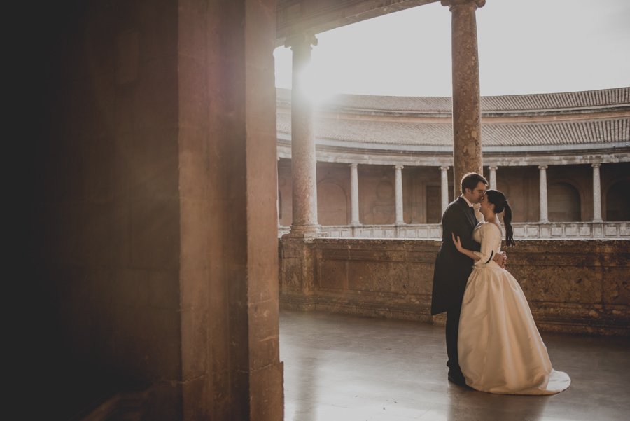 Post Boda en los alrededores de la Alhambra. Fran Menez Fotógrafos de Boda en Granada. 28