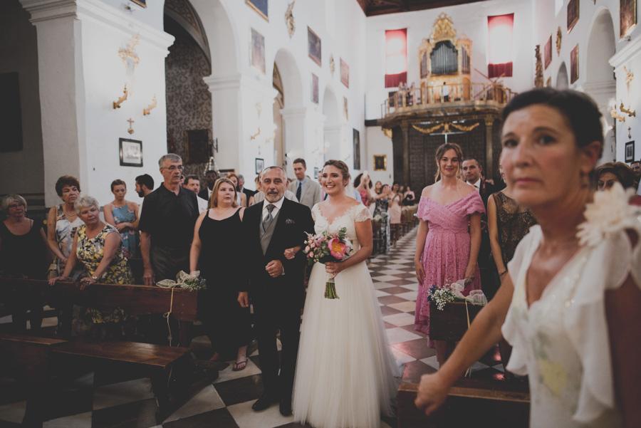 Boda en la Iglesia San Pedro y San Pablo. Celebración en Hotel Santa Paula. Marta y Cameron 24