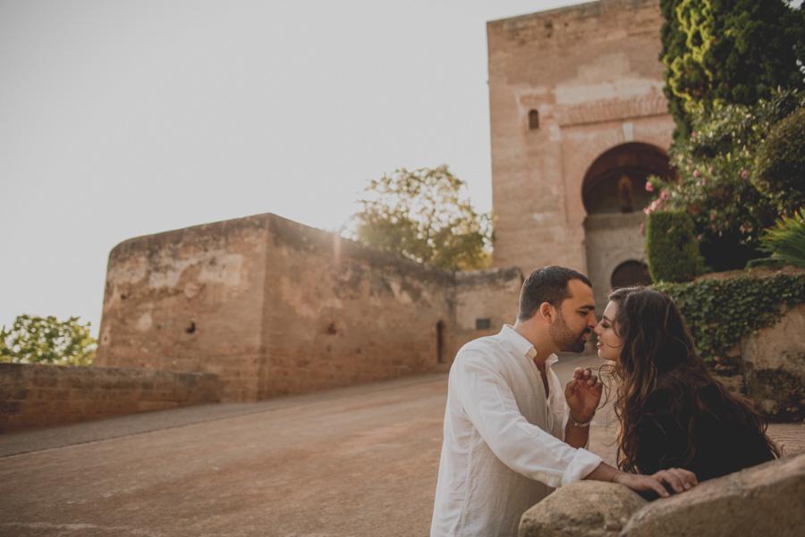 Pre Boda de dos Sevillanos en Granada. Isabel y Jose Miguel. Fran Ménez Fotógrafo de Bodas en Sevilla 11