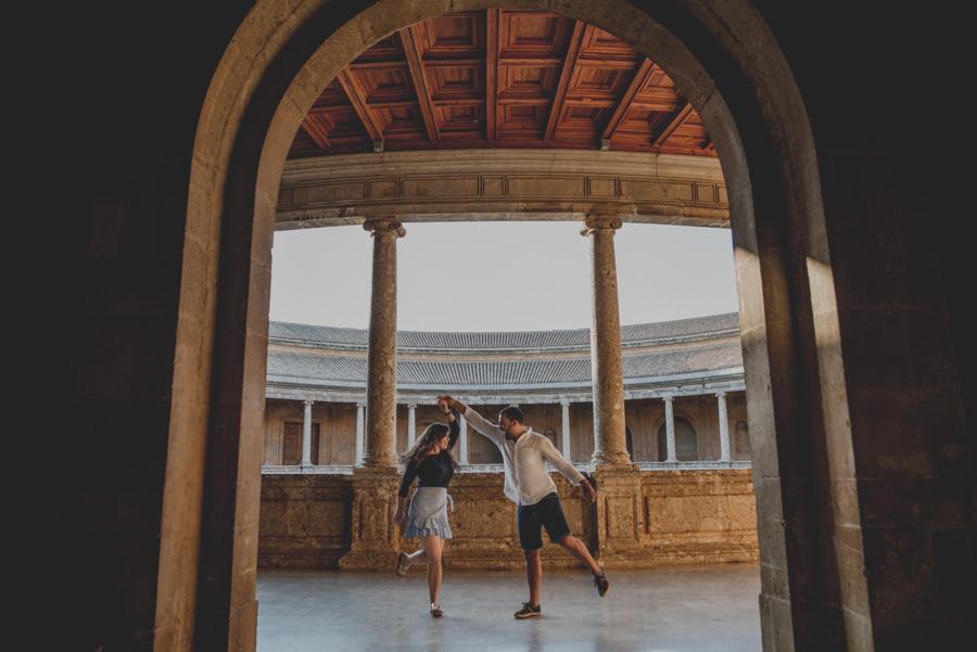 Pre Boda de dos Sevillanos en Granada. Isabel y Jose Miguel. Fran Ménez Fotógrafo de Bodas en Sevilla 15