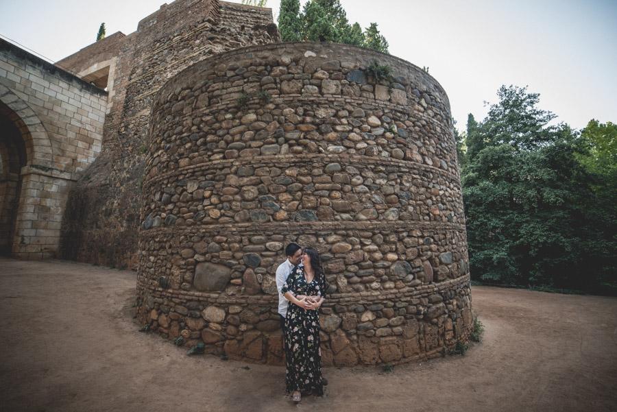 Pre Boda Gema y Mariano. Bosque de la Alhambra. Fran Ménez Fotógrafo de Parejas en Granada 1