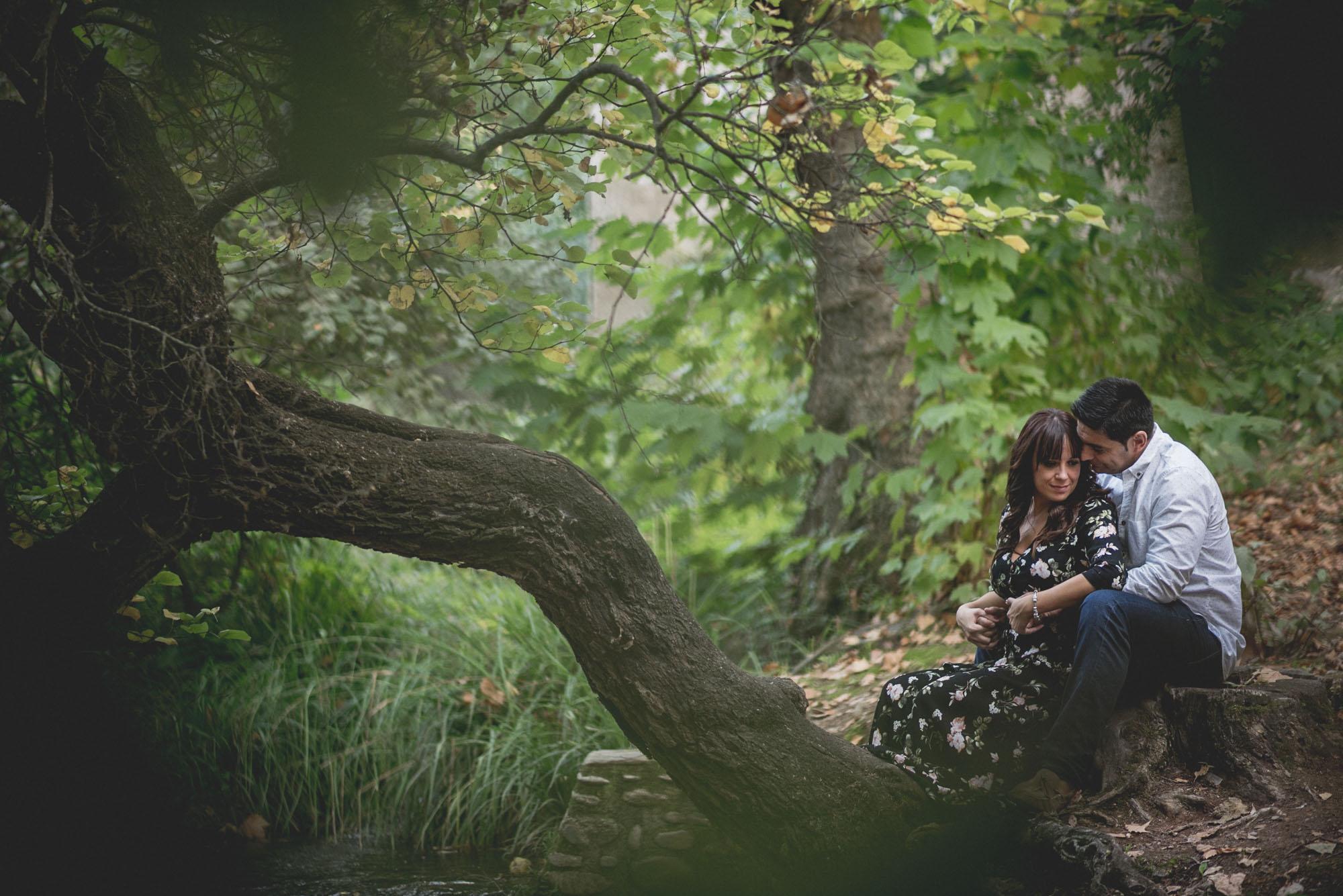 Pre Boda Gema y Mariano. Bosque de la Alhambra. Fran Ménez Fotógrafo de Parejas en Granada 8