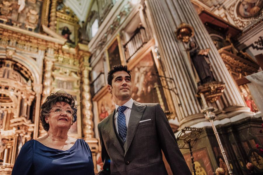 Boda en Parroquia San Justo y Pastor. Boda en el Cortijo de Enmedio. Paula y Alejandro 35