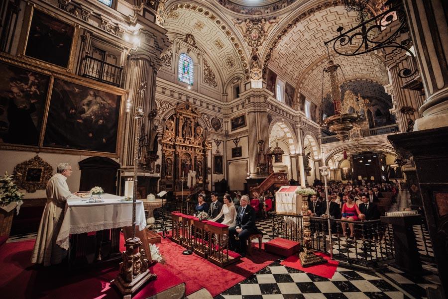Boda en Parroquia San Justo y Pastor. Boda en el Cortijo de Enmedio. Paula y Alejandro 40