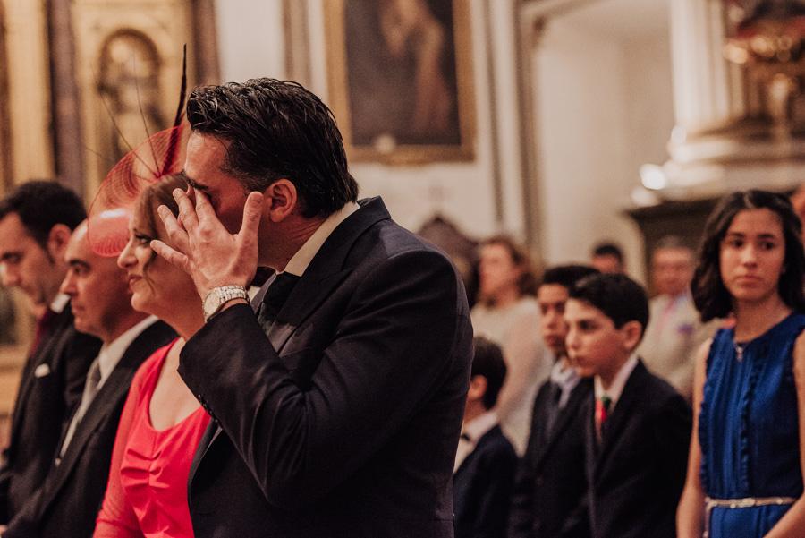 Boda en Parroquia San Justo y Pastor. Boda en el Cortijo de Enmedio. Paula y Alejandro 43